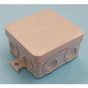 rosi materiale elettrico scatola di derivazione 75x75x39 ip55 rs13302
