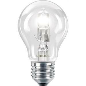 philips lampada alogena goccia 53w attacco e27 luce calda ec53cl
