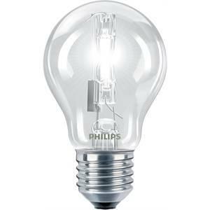 philips lampada alogena goccia 70w attacco e27 luce calda ec70cl