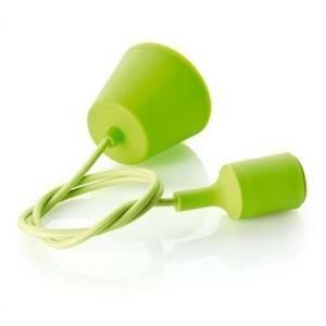 perenz sospensione in gomma colore verde attacco e27 40w 6238ve