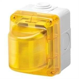gewiss spia segnalazione diffusore colore giallo stagna gw27417