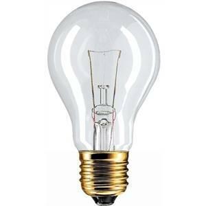 philips lampada incandescenza a goccia 60w e27 24v 6024
