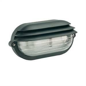 sovil plafoniera ovale palpebra da esterno nera 787/06