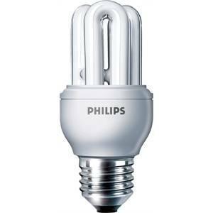 philips lampadina fluorescente attacco grande e27 8>38w luce fredda gen8cdl