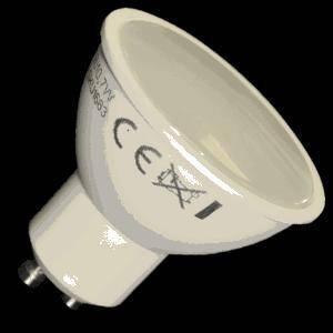 v-tac lampadina spotled 5w attacco gu10 luce calda 1685
