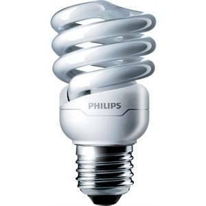 philips philips lampadina fluorescente spirale 12w e27 luce calda minitornado mtor12y128718291116981