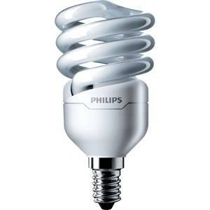 philips philips lampadina spirale attacco piccolo e14 12>60w luce calda 2700k 220-240v mtor12y12e14 8718291117247