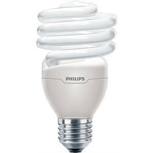 philips lampadina fluorescente spirale 23w attacco e27 luce fredda mtor12y23cdl