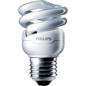 philips philips lampadina fluorescente spirale 8w e27 luce calda minitornado mtor12y88718291117087