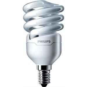 philips philips lampadina spirale attacco piccolo e14 12>57w luce fredda 6500k 220-240v mtor12y12e14cdl8718291117209