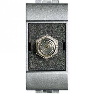 bticino livinglight tech connettore coassiale f tv standard nt4269f