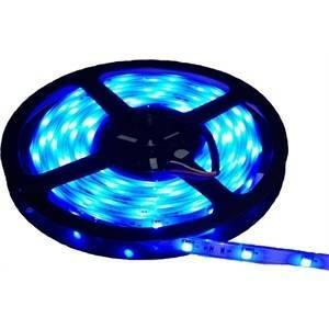 nobile illuminazione 1 metro di striscia led stagna 4,8w al metro stagna colore blu 80010/blue