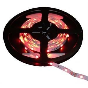 nobile illuminazione nobile illuminazione 5 metri di striscia led stagna 4,8w al metro colore rossa 80010/red/5mt
