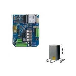 rib quadro elettronico automatico per cancelli a battente t2-crx abt2000