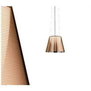 flos flos lampada sospensione bronzo alluminato ktribe s2 f6257046
