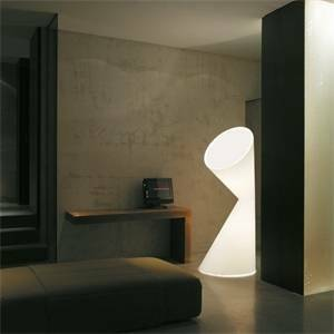 kundalini kundalini lampada da terra tessuto per interno la la lamp bianca k872bieu