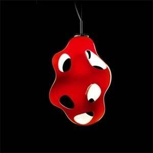 kundalini kundalini lampadario a sospensione rosso per interno bokka ceiling k868roeu