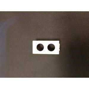 fracarro adattatore  presa demix bticino light a due fori  280802