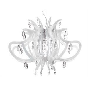 slamp slamp lampadario a sospensione lillibet white lil14sos0000wt
