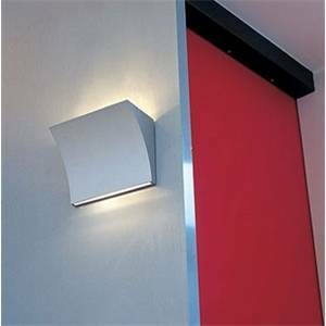 flos lampada da parete bianca pochette up/down f9701009