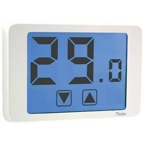 vemer termostato thalos elettronico touchscreen bianco ve432100
