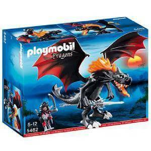 playmobil drago gigante sputafuoco
