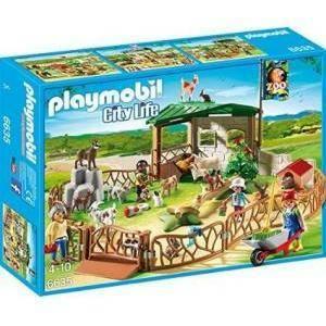 playmobil lo zoo dei bimbi