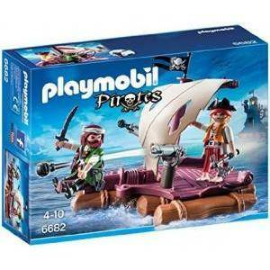 playmobil zattera dei pirati