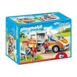 playmobil ambulanza luci e suoni