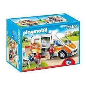 playmobil ambulanza luci e suoni