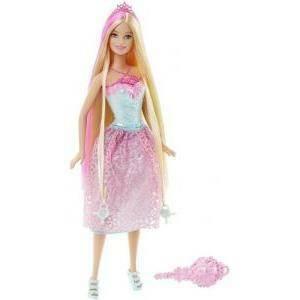 mattel barbie principessa chioma da favola