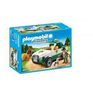 playmobil playmobil pick up del guardaboschi