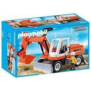 playmobil playmobil escavatore meccanico