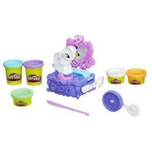 hasbro - mb playdoh camerino rarity my little pony
