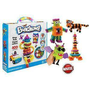 spinmaster spinmaster bunchems kit mega confezione 400 pezzi