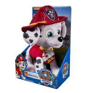 spinmaster spinmaster paw patrol deluxe peluche marshall
