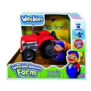 giocheria weebles farmer e trattore