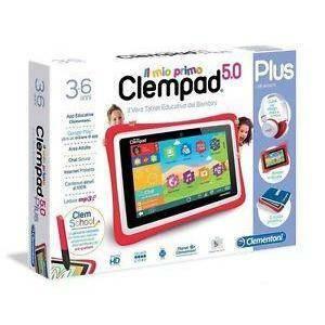 clementoni clementoni il mio primo clempad 5.0 plus tablet educativo 3-6 anni