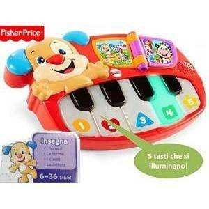 fisher-price fisher-price pianoforte del cagnolino