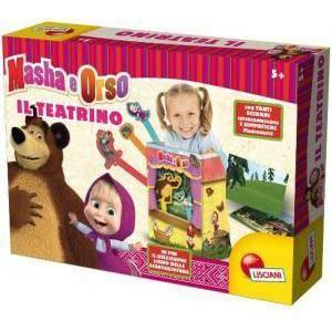 lisciani giochi lisciani giochi masha e orso il mio teatrino