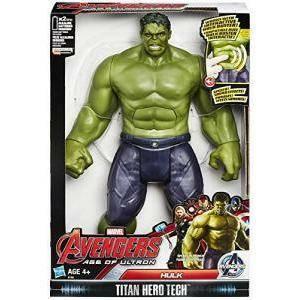 hasbro - mb hulk avengers personaggio interattivo