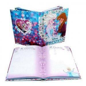 seven seven diario scuola frozen love