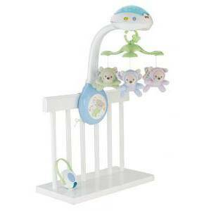 fis fisher-price fis fisher-price giostrina degli orsetti