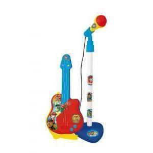 grandi giochi chitarra con microfono paw patrol