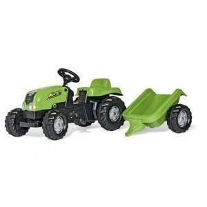 rolly toys rolly toys rollykid con rimorchio verde