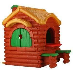 famosa famosa casetta plastica esterno woodland cottage chalet montagna giardino