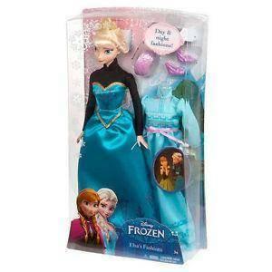 mattel mattel bambola frozen elsa anna giorno dell'incoronazione