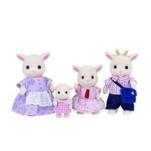 sylvanian families sylvanian families famiglia capre