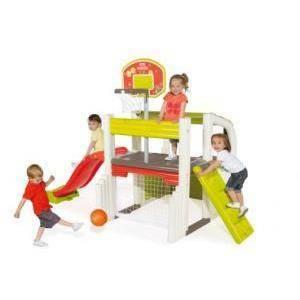 smoby smoby centro gioco sportivo fun center