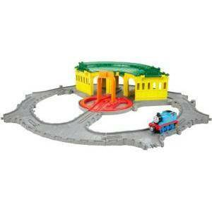 fisher price fisher price trenino thomasveicolo deposito di tidmouth